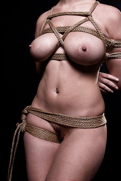 Photos of busty bondage girls